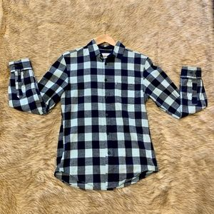 Goodfellow and Co. Mens Button Up Plaid Shirt